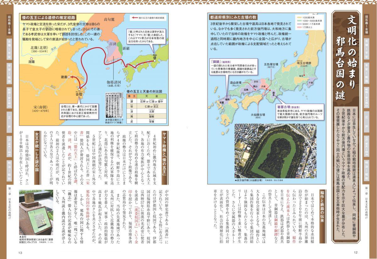 日本 歴史地図 あのできごとはここで起こった!古代から現代まで徹底解説