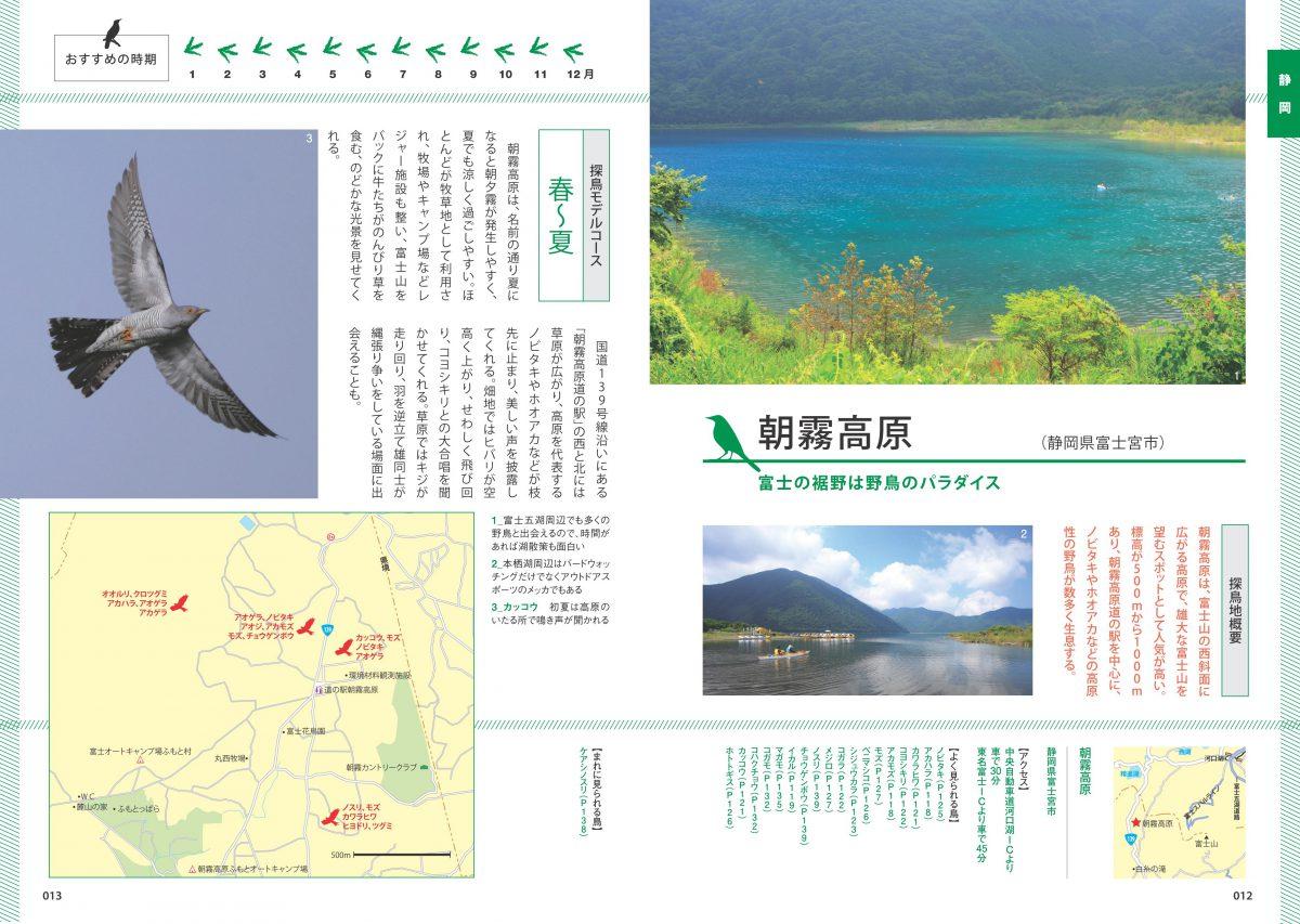東海・北陸・信州 野鳥観察のための探鳥地ベストガイド 改訂版