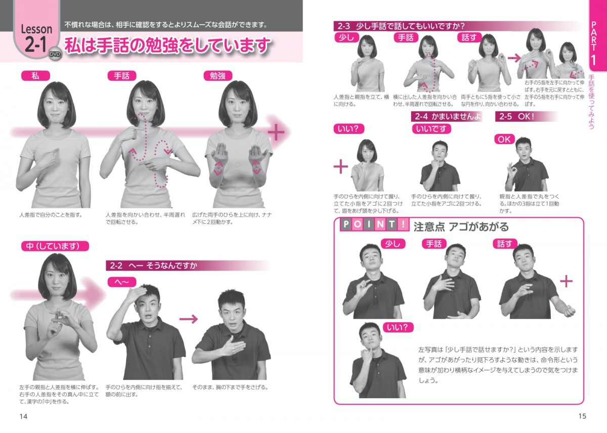 DVDでよくわかる 基本の手話 すぐに使える会話と表現 新版
