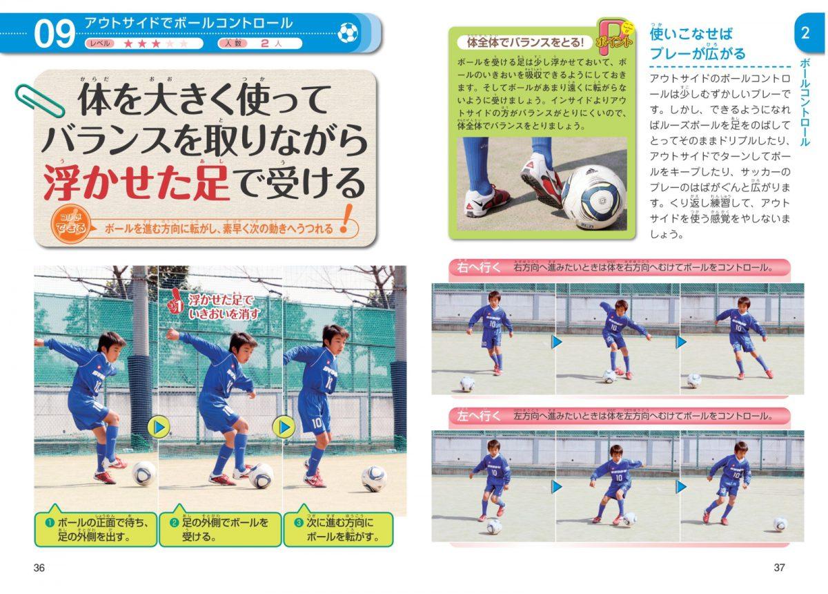 小学生のサッカー 最強のテクニックが身につく本 新装版