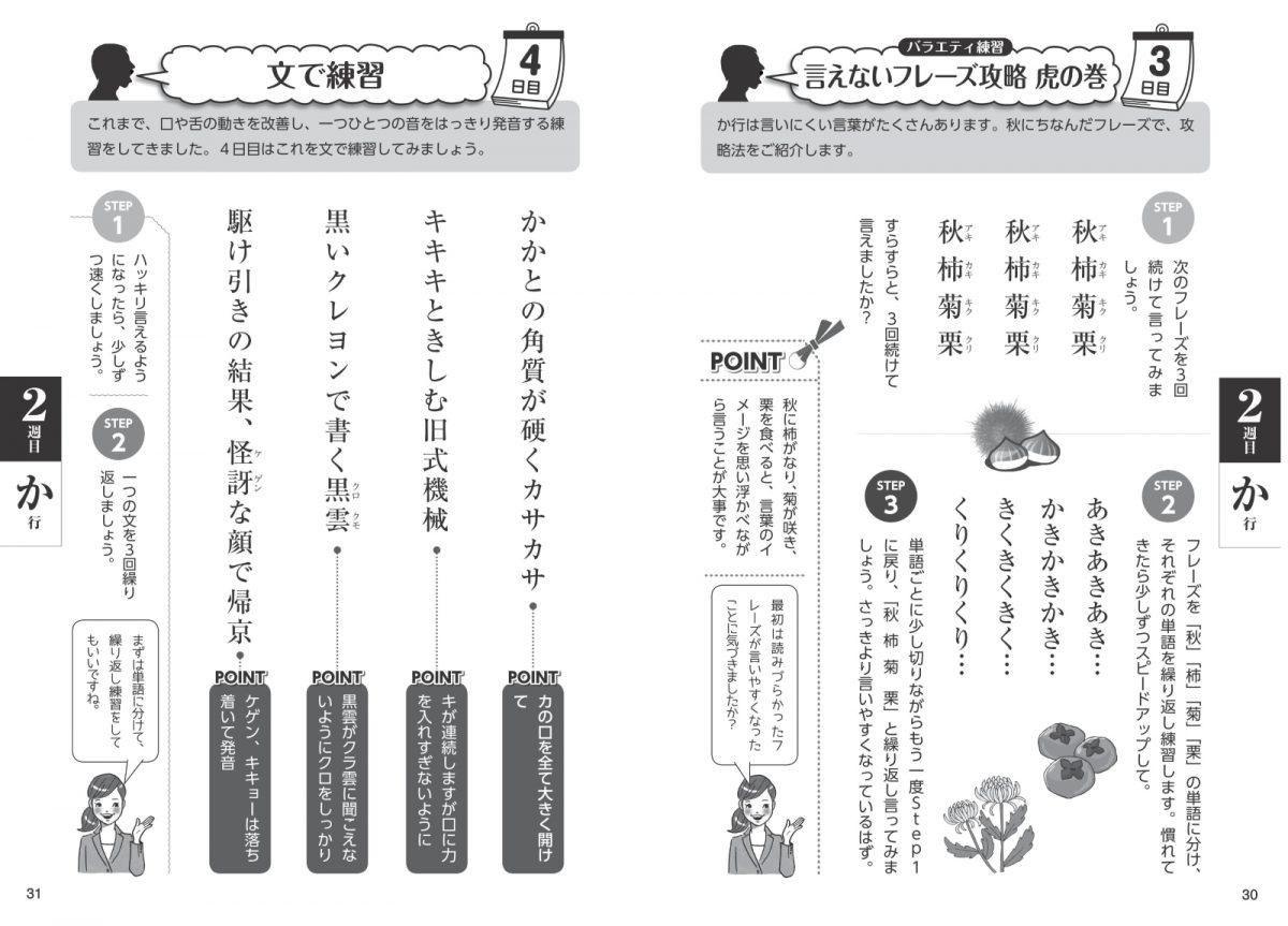 ボケない大人のはきはき「滑舌ドリル」新版 1日3分声出し練習で発音・表情・脳を活性化